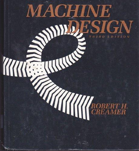 Machine Design  3rd 1984 edition cover