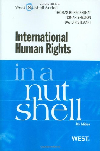 International Human Rights in a Nutshell  4th 2010 (Revised) edition cover