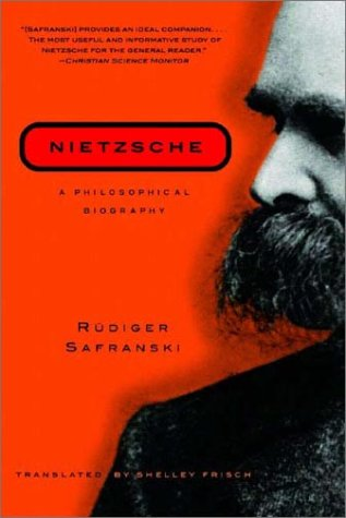 Nietzsche A Philosophical Biography Reprint  edition cover