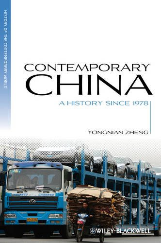 Contemporary China A History Since 1978  2012 edition cover