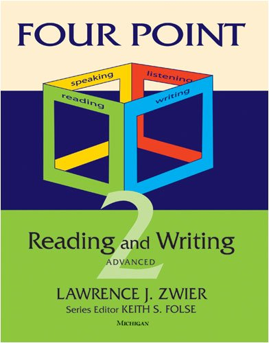 Four Point Reading and Writing - Advanced EAP   2011 edition cover