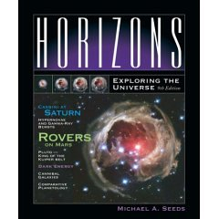 HORIZONS:EXPLORING THE UNIVERS 9th 2006 9780495012801 Front Cover