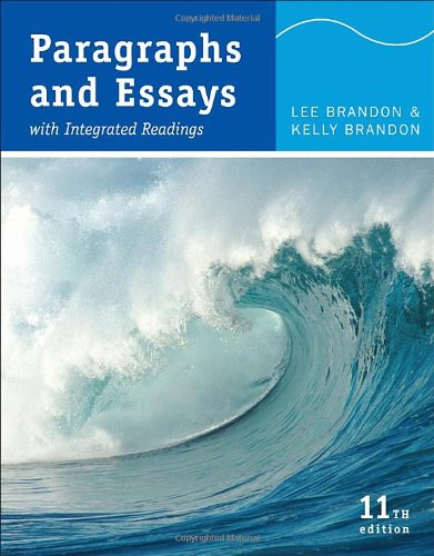 Paragraphs and Essays With Integrated Readings 11th 2011 edition cover