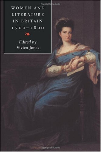 Women and Literature in Britain, 1700-1800   2000 9780521586801 Front Cover