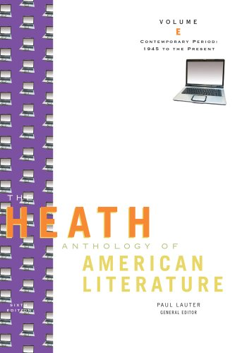 American Literature Contemporary Period 6th 2010 edition cover