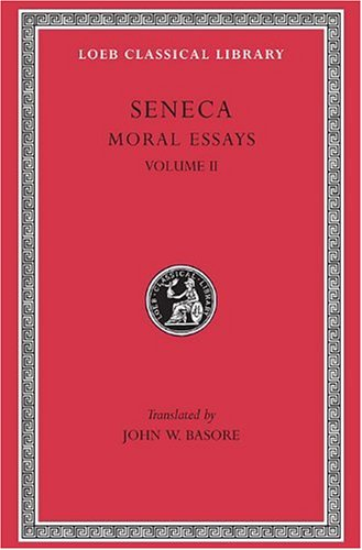 Seneca Moral Essay  1932 (Revised) edition cover