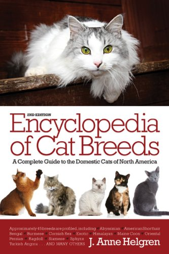 Encyclopedia of Cat Breeds  2nd 2013 (Revised) edition cover