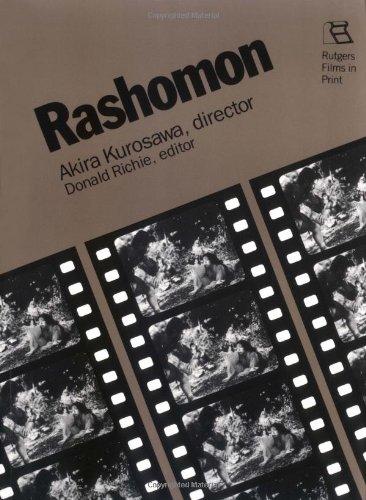 Rashomon Akira Kurosawa, Director  1987 edition cover