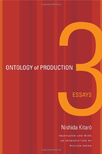 Ontology of Production Three Essays  2012 edition cover