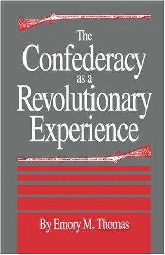 Confederacy As a Revolutionary Experience Reprint edition cover