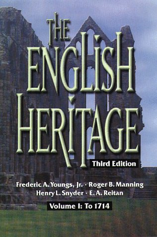 English Heritage to 1714  3rd 1999 9780882959801 Front Cover