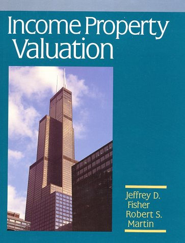 Income Property Valuation 1st edition cover