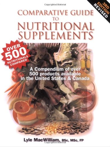 Comparative Guide to Nutritional Supplements:  2003 edition cover