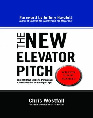 New Elevator Pitch  N/A edition cover