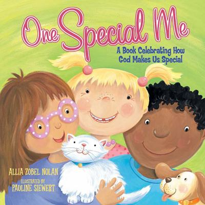 One Special Me A Book Celebrating How God Made Us Special  2008 (Special) 9781400312801 Front Cover