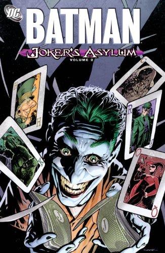 Joker's Asylum   2011 9781401229801 Front Cover