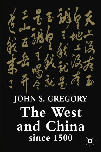 West and China Since 1500   2003 (Revised) 9781403902801 Front Cover
