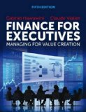 Finance for Executives: Managing for Value Creation 5th 2015 edition cover