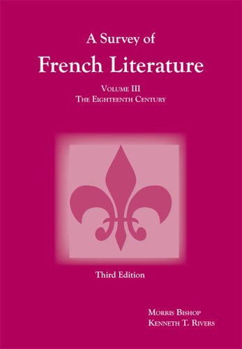 Survey of French Literature The Eighteenth Century 3rd 2005 edition cover