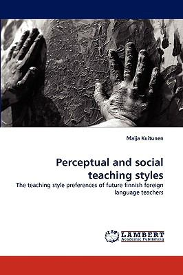 Perceptual and Social Teaching Styles N/A 9783838355801 Front Cover