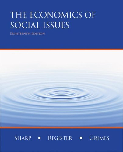 Economics of Social Issues  18th 2008 edition cover