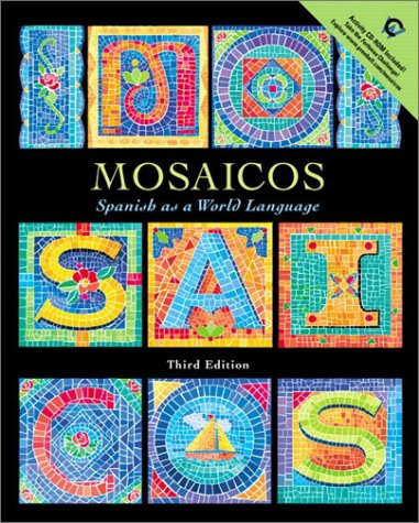 Mosaicos Spanish as a World Language 3rd 2002 edition cover