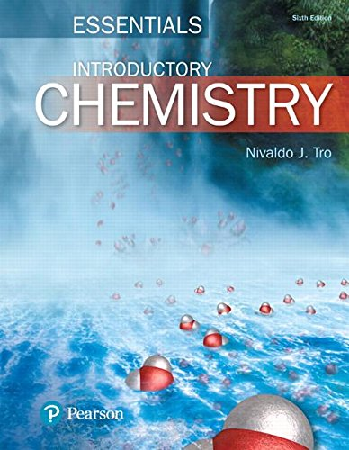 Introductory Chemistry Essentials:   2017 9780134291802 Front Cover