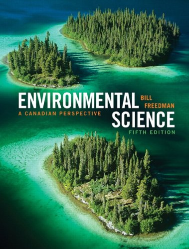 ENVIRONMENTAL SCIENCE:CANADIAN N/A 9780135153802 Front Cover
