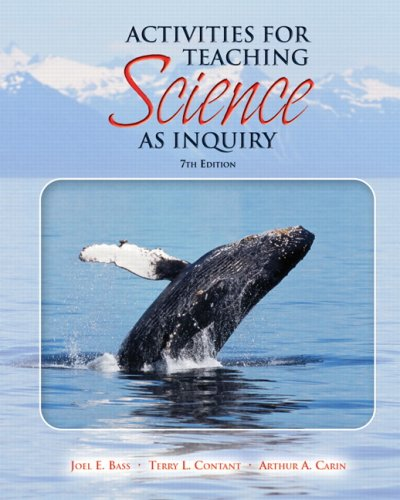 Activities for Teaching Science as Inquiry  7th 2009 edition cover