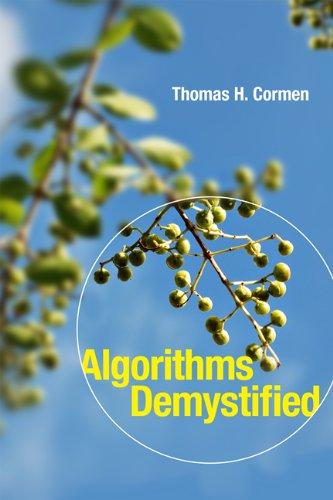 Algorithms Unlocked   2013 edition cover