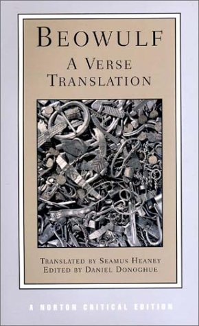 Beowulf A Verse Translation  2001 9780393975802 Front Cover