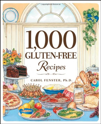 1,000 Gluten-Free Recipes   2008 edition cover