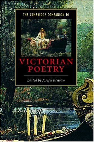 Cambridge Companion to Victorian Poetry   2000 9780521646802 Front Cover