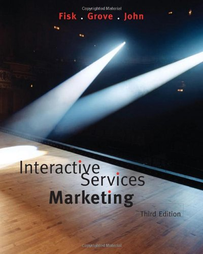 Interactive Services Marketing  3rd 2008 edition cover