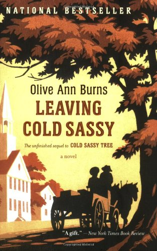 Leaving Cold Sassy The Unfinished Sequel to Cold Sassy Tree  1992 edition cover