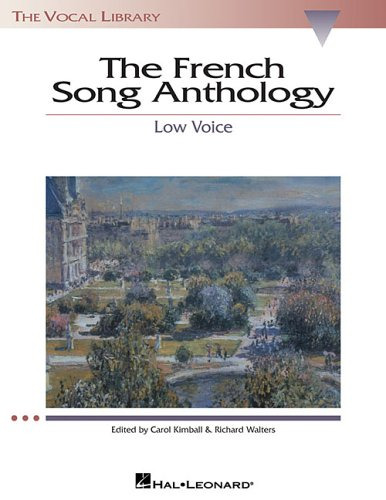 French Song Anthology  N/A edition cover