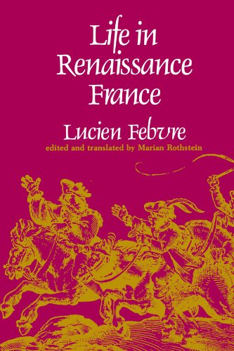 Life in Renaissance France   1977 edition cover