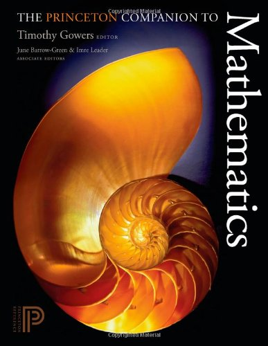 Princeton Companion to Mathematics   2009 edition cover