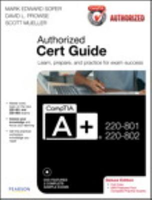CompTIA A+ 220-801 and 220-802  3rd 2013 edition cover