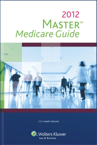 Master Medicare Guide   2012 edition cover