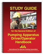 Study Guide for the Second Edition of Pumping Apparatus Driver/Operator Handbook  2006 edition cover