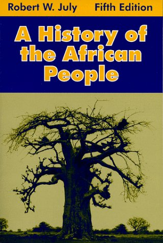 History of the African People  5th 1998 (Revised) edition cover