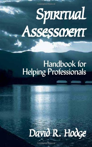 Spiritual Assessment Handbook for Helping Professionals  2003 edition cover