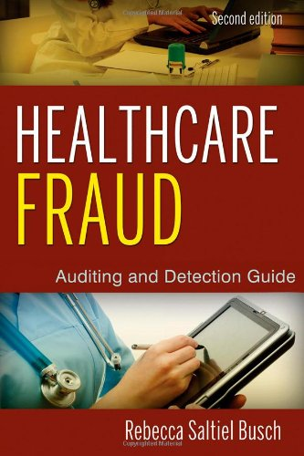 Healthcare Fraud Auditing and Detection Guide 2nd 2012 edition cover