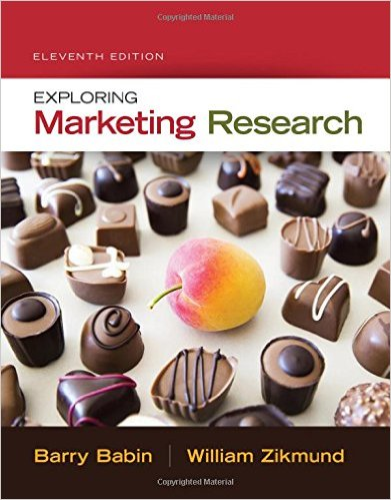 Exploring Marketing Research (Text Only) 11th edition cover