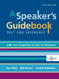 Speaker's Guidebook with the Essential Guide to Rhetoric 6th edition cover