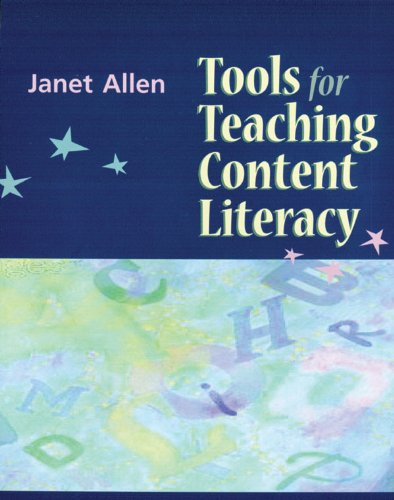 Tools for Teaching Content Literacy   2003 edition cover