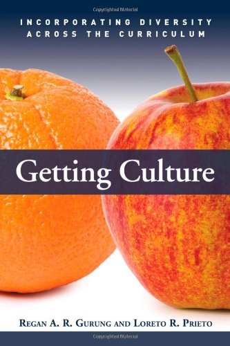 Getting Culture Incorporating Diversity Across the Curriculum  2009 9781579222802 Front Cover