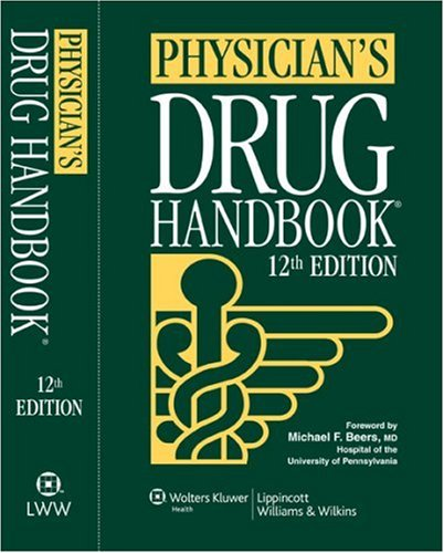 Physician's Drug Handbook  12th 2007 (Revised) edition cover