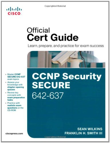 CCNP Security Secure 642-637   2011 (Revised) edition cover